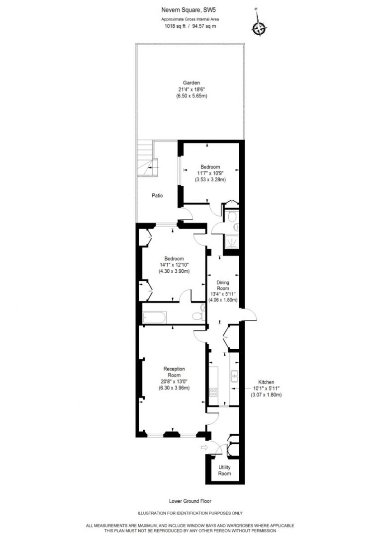 Floor Plan for Nevern Square