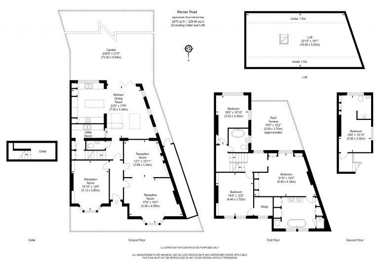 Floor Plan for NEW INSTRUCTION- MERVAN ROAD- SW2